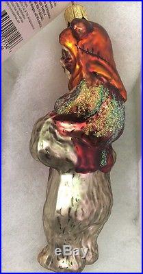 New Christopher Radko Star Wars Ewoks 5 Extremely RARE! Glass Ornament
