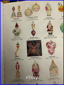 RADKO ORNAMENT GUIDE 1986 2000 by david Olsen 15 Years VERY HARD TO FIND