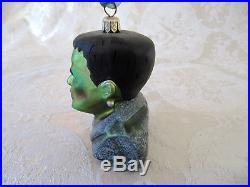 RARE Small Radko Universal Studios Monsters Frankenstein Ornament