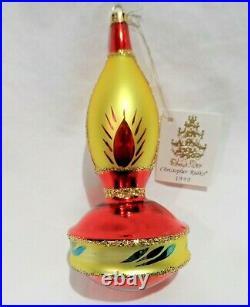 Radko 1990 MARACA VintageRARE Latin American Musical Instrument Ornament NEW