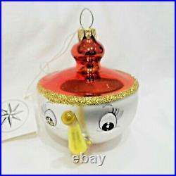 Radko 1993 TEA & SYMPATHY Vintage RARE Italian TEA CUP Ornament New withTag