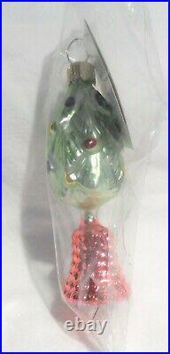 Radko 1993 TWINKLE TREE Vintage CHRISTMAS TREE BELL Ornament NEWwithTag SEALED