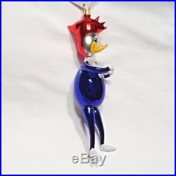 Radko 1995 PECKY WOODPECKER VintageWoody Woodpecker Bird Ornament NEW withTag
