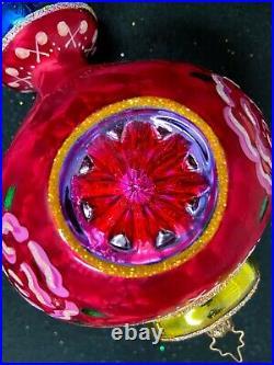 Radko 2005 Cozy Glow red reflector drop, 1011877