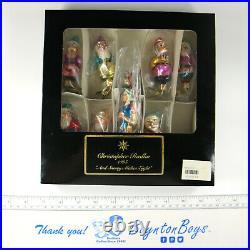 Radko And Snowy Makes Eight Disney Snow White Ornament Set 95-169-0 SEALED