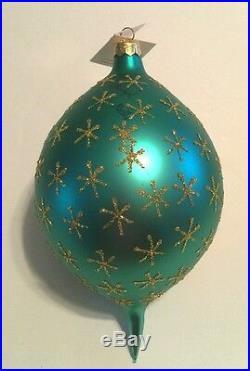 Radko Esquire Santa SIGNED #435/750 Christmas Ornament 1996 VERY RARE Tag Box