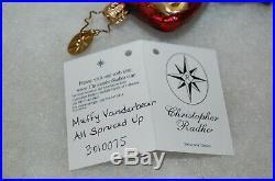 Radko MUFFY VANDERBEAR ALL SPRUCED UP Christmas Ornament 3010075