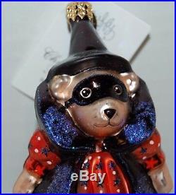 Radko MUFFY WITCH Christmas Ornament 3010145