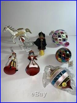 Radko Ornament Lot New WithTags Italian Ball Drop