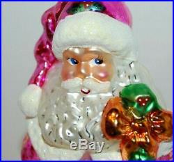 Radko YORKSHIRE NICHOLAS Christmas Ornament 00-390-0 RARE, HUGE SANTA