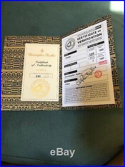 Rare! Christopher Radko 1999 Disneyana Simba # 589/1000 Signed Ornament In Box