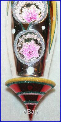 Rare Christopher Radko Christmas Ornament Signal Quest Master Craftsman German