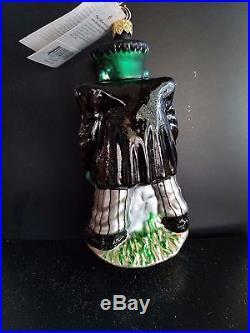 Rare Christopher Radko Universal Studios FRANKENSTEIN Monster Halloween Ornament