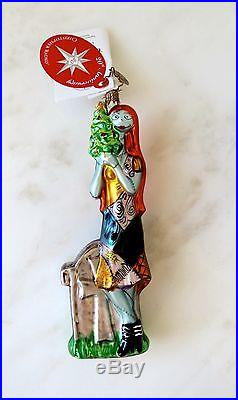 Retired Christopher Radko SALLY Ornament Disneyland Exclusive 2008 RARE with tags