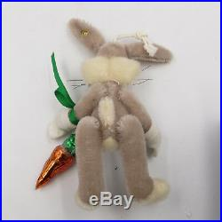 Steiff Bugs Bunny Christopher Radko Ornament withCoA withBox