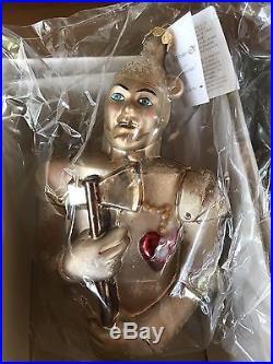 The Wizard Of Oz Christopher Radko Ornament Tin Man Rare