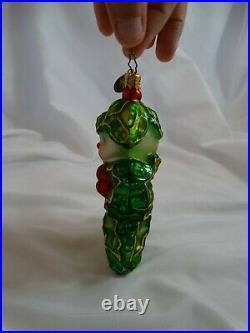 Vintage Christopher Radko Holly Jean Christmas Ornament